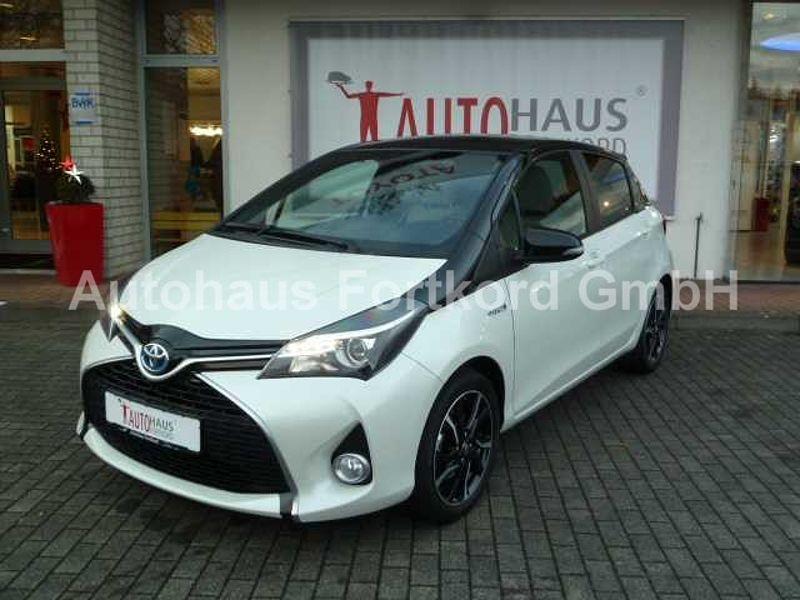 Toyota Yaris Hybrid Style Navi, Keyl. Go, Alu, LED, BT-FSA
